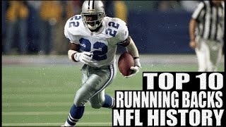 Top 10 Running Backs in NFL History Video