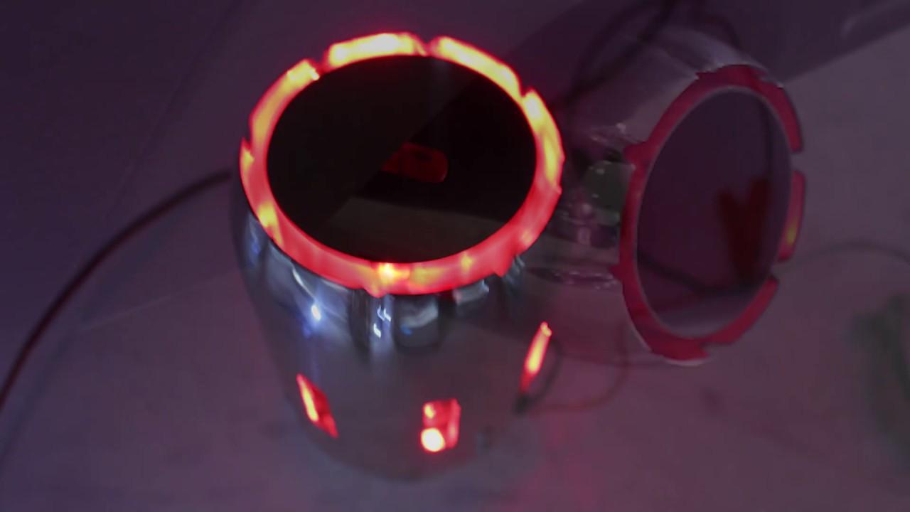 universal spitfire led car exhaust tip