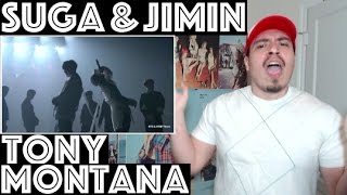 BTS SUGA/AGUST D & JIMIN Tony Montana Live 3RD MUSTER REACTION