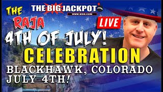 💥 July 4th Live Mega Slot Jackpots Live Play 💥Happy WIN-dependence Day!