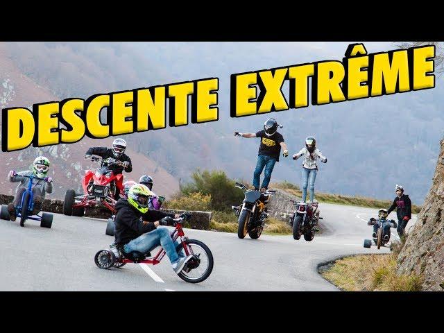 DESCENTE INFERNALE ENTRE RIDERS DE L'EXTRÊME (Ft Pat Guimez & Sarah Lezito)