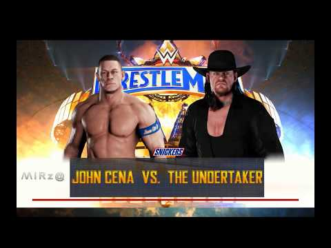WW2K18  John Cena vs Undertaker  at Wrestlemania 34 thumbnail