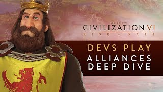 Video Civilization VI: Rise and Fall - Devs Play Scotland (Alliances Deep Dive) download MP3, 3GP, MP4, WEBM, AVI, FLV Maret 2018