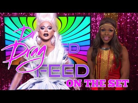 "RUPAUL on HEY QWEEN! Samantha Starr ""On The Set"" on Drag Feed"