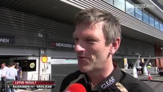 James Allison on Kimi Raikkonen and Lotus (Spa 2012) HD