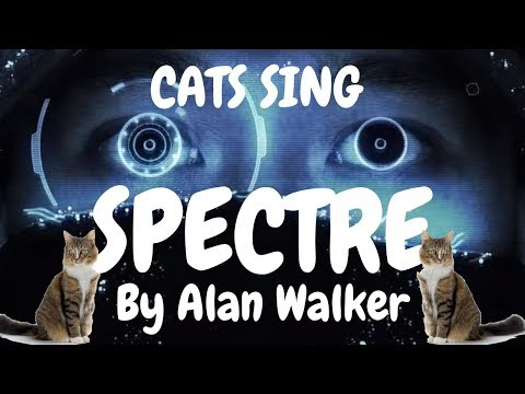 Cats Sing The Spectre by Alan Walker | Cats Singing Song
