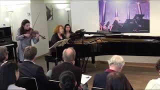 Louise Chisson & Tamara Atschba, Bach Beethoven Lutoslawski Szymanowski