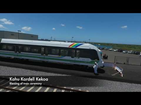 Honolulu Rail Train Unveiling