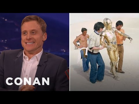 """Rogue One""'s Alan Tudyk Got Cussed Out By C-3PO  - CONAN on TBS"