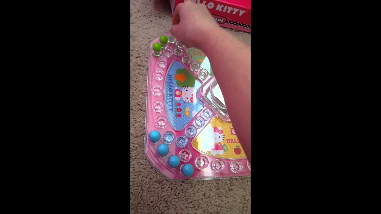 How To Play Hello Kitty Pop N Play Game Youtube