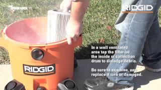How To Access, Clean, And Replace Your Ridgid Wet/Dry Vac Filter