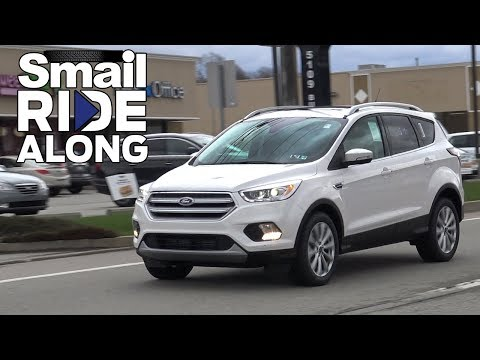 2018 Ford Escape Titanium - Review and Test Drive - Smail Ride Along