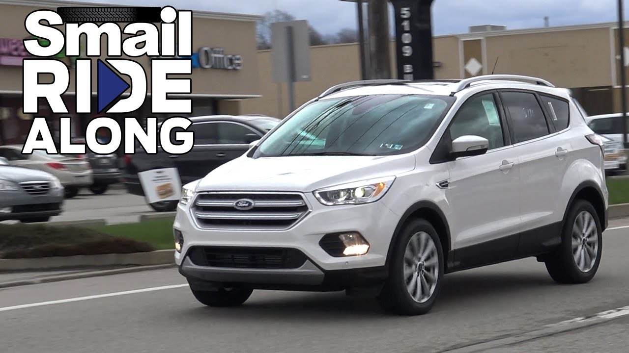 2018 ford escape titanium review and test drive smail ride along