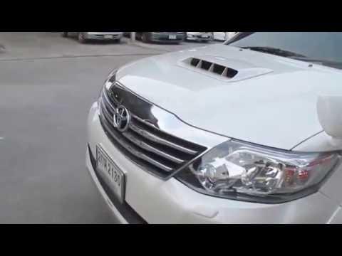 รถอเนกประสงค์มือสอง รถราคาถูก Toyota โตโยต้า ฟอร์จูเนอร์ Fortuner TOP สีขาว ปี 2014 เครื่อง 3.0#UC47