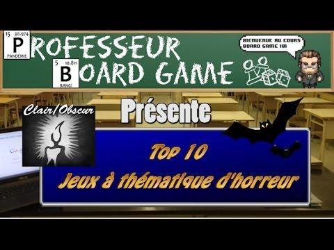 Top 10 jeux th matique d 39 horreur youtube - Jeux d oreure ...