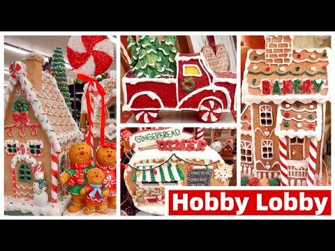 HOBBY LOBBY CHRISTMAS DECOR 2019 | GINGERBREAD DECOR, COCOA BAR & VINTAGE CHRISTMAS DECOR