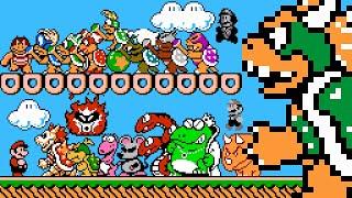 Super Mario Bros. 3 - All New Bosses (SM4J). ᴴᴰ