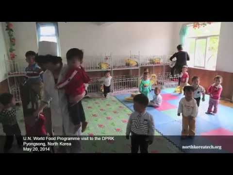 UN World Food Programme in Pyongsong