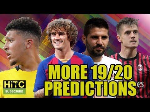 MORE 2019/20 Predictions Including The Championship, La Liga & The Champions League