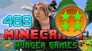 Minecraft: Hunger Games w/Mitch! Game 489 - JEROME, TURQMELON AND BAJANCANADIAN!
