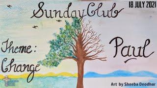 Greenford Baptist Church Sunday Club - 11 July 2021