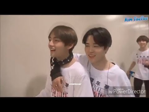 How V and Jimin (태형 & 지민 BTS) love and care for each other #2