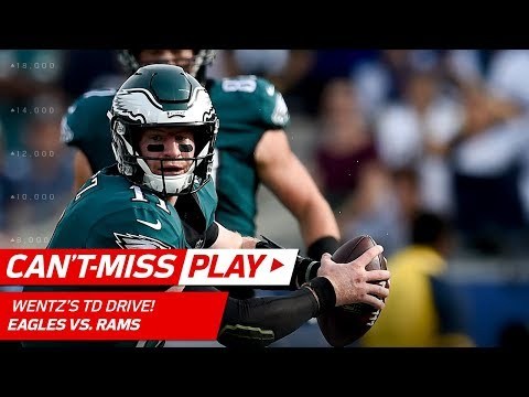Carson Wentz Continues to Make Magic on TD Drive vs. LA! | Can't-Miss Play | NFL Wk 14 Highlights