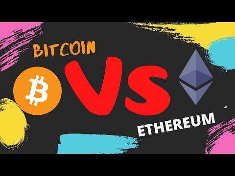 BITCOIN 💪 vs 💪 ETHEREUN ESPAÑOL / BTC VS ETHER / BITCOIN Y ETHEREUM definicion español