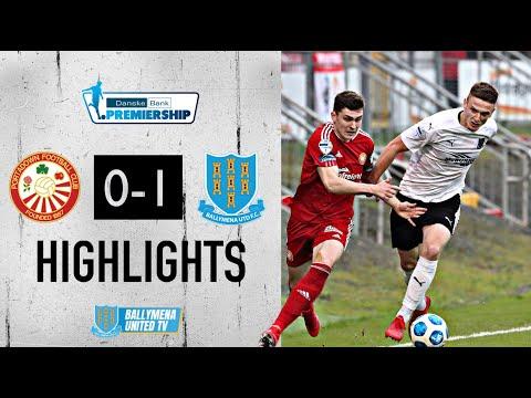 Portadown Ballymena Goals And Highlights