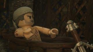 Lego Witcher Bathtub Geralt - live wallpaper