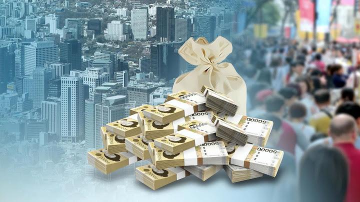 지난해 국가부채 2천조 육박…GDP 첫 추월 / 연합뉴스TV (YonhapnewsTV)