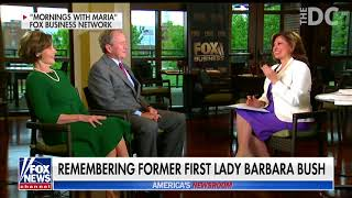 Barbara Bush In Rememberance - The Happy, Funny, and the Sad
