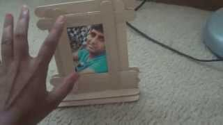 How To Make A Photo Frame From Popsicle Icecream Sticks