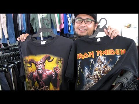 Vintage Bundle Shop .. Iron Maiden found !!!