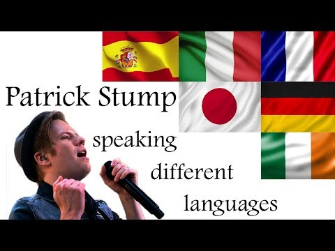 Patrick Stump and Languages