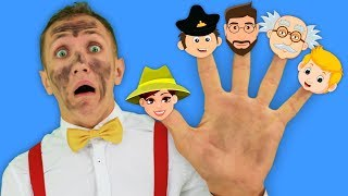 Jobs Song for Kids - Super Simple Nursery Rhymes –  Professions Part 4