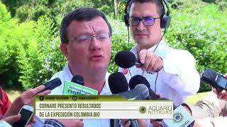 Cornare presentó resultados de la expedición Colombia BIO