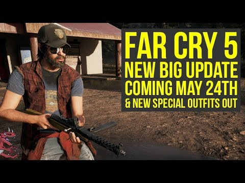 Far Cry 5 New Update COMING REAL SOON + New Special Outfits OUT (Far Cry 5 DLC - Far Cry 5 Update)