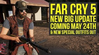 Far Cry 5 New Update COMING MAY 24 + New Special Outfits OUT (Far Cry 5 DLC - Far Cry 5 Update) thumbnail