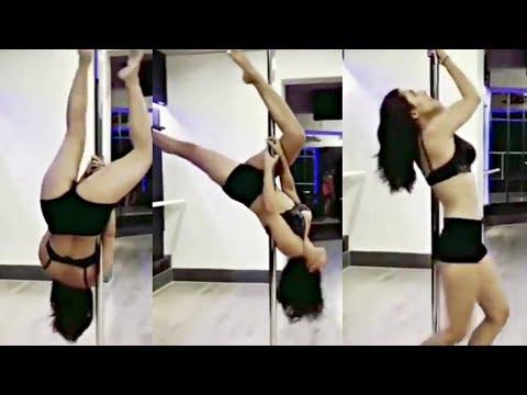 Kriti Kharbanda HOT Pole Dance Video