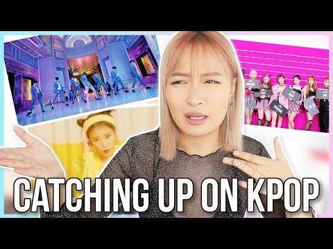 CATCHING UP ON KPOP : SUPER JUNIOR, IU, WEKI MEKI MV REACTION