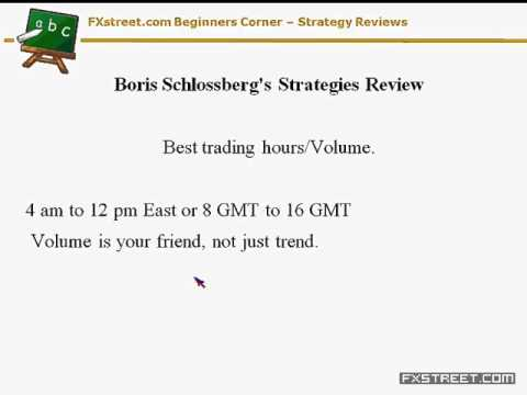 Valeria Bednarik: Beginners Corner – Boris Schlossberg's Strategies Review