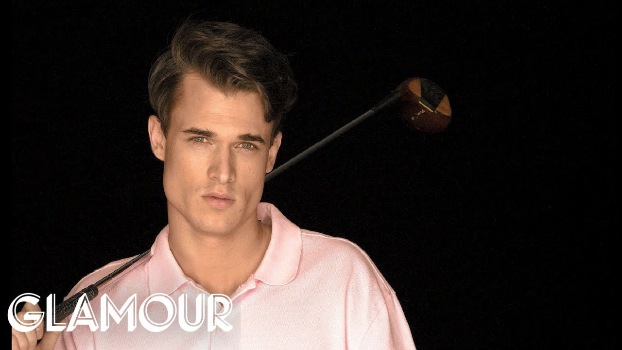 Watch Hot & Sexy Guy Matt, a Golf Pro - Glamour's Gift of the Week - To Make Your Day!