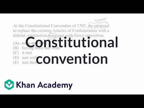 9 Constitutional Convention