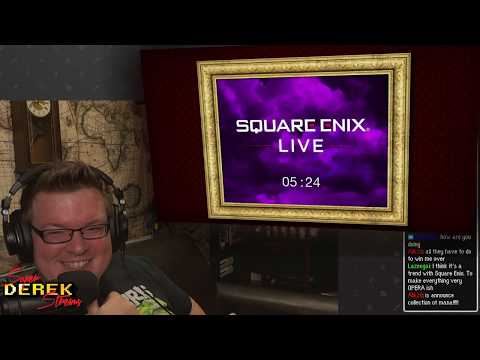 SuperDerek Catches Up with the RPGs of E3! Square Enix Reaction!
