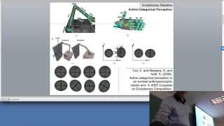 Lecture 10, UVM Evolutionary Robotics Course (Spring 2016). Legged locomotion.