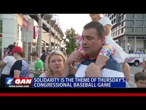 Solidarity the Theme at Congressional Game