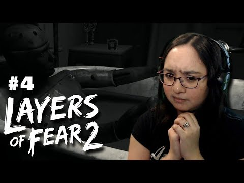 Let's Play: Layers of Fear 2 PS4 Gameplay Walkthrough Part 4 - Giving in to the Darkness