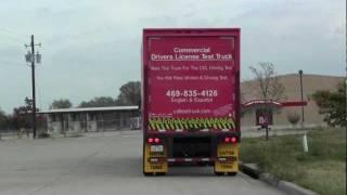 Class A Cdl Road Test Backing & Parallel Park Mckinney, Texas Tx