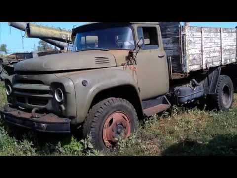 Стоянка списанной техники ремонтно-восстановительного батальона